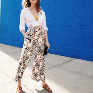 FREE PEOPLE over n' under wide leg pants